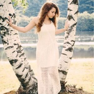 Off-white Lauren Conrad maxi dress worn only once!